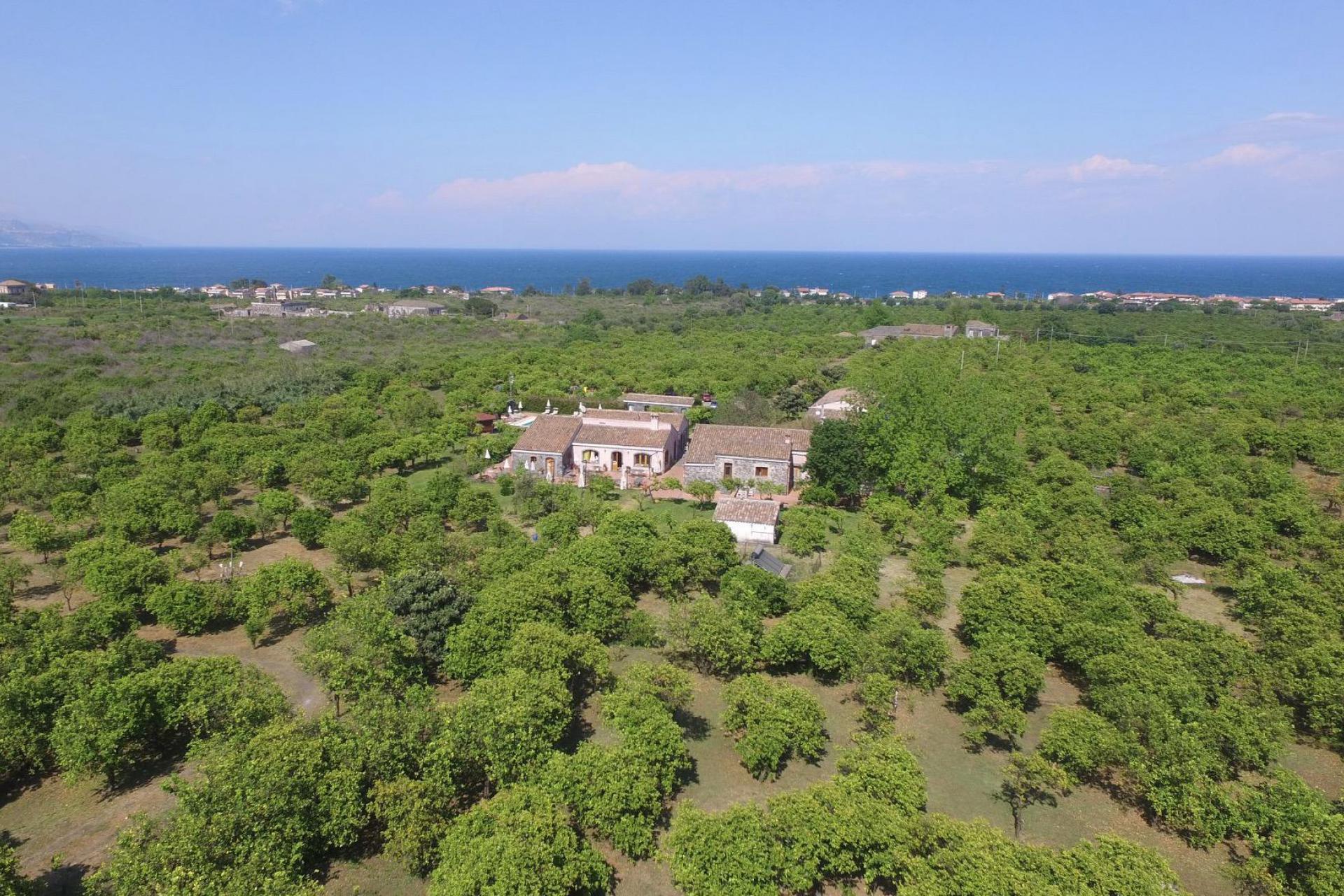 Agriturismo Sicilia Agriturismo immerso tra alberi di agrumi in Sicilia