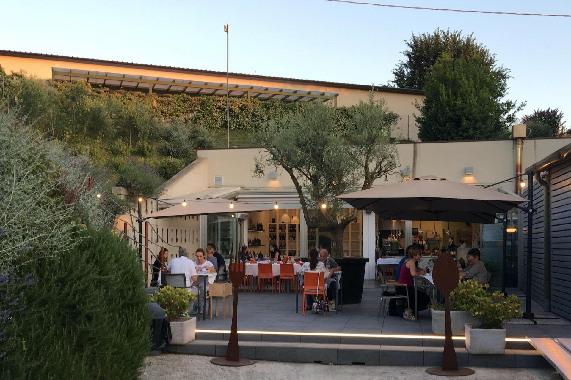 Agriturismo Marche Agriturismo Marche con ristorante in un uliveto