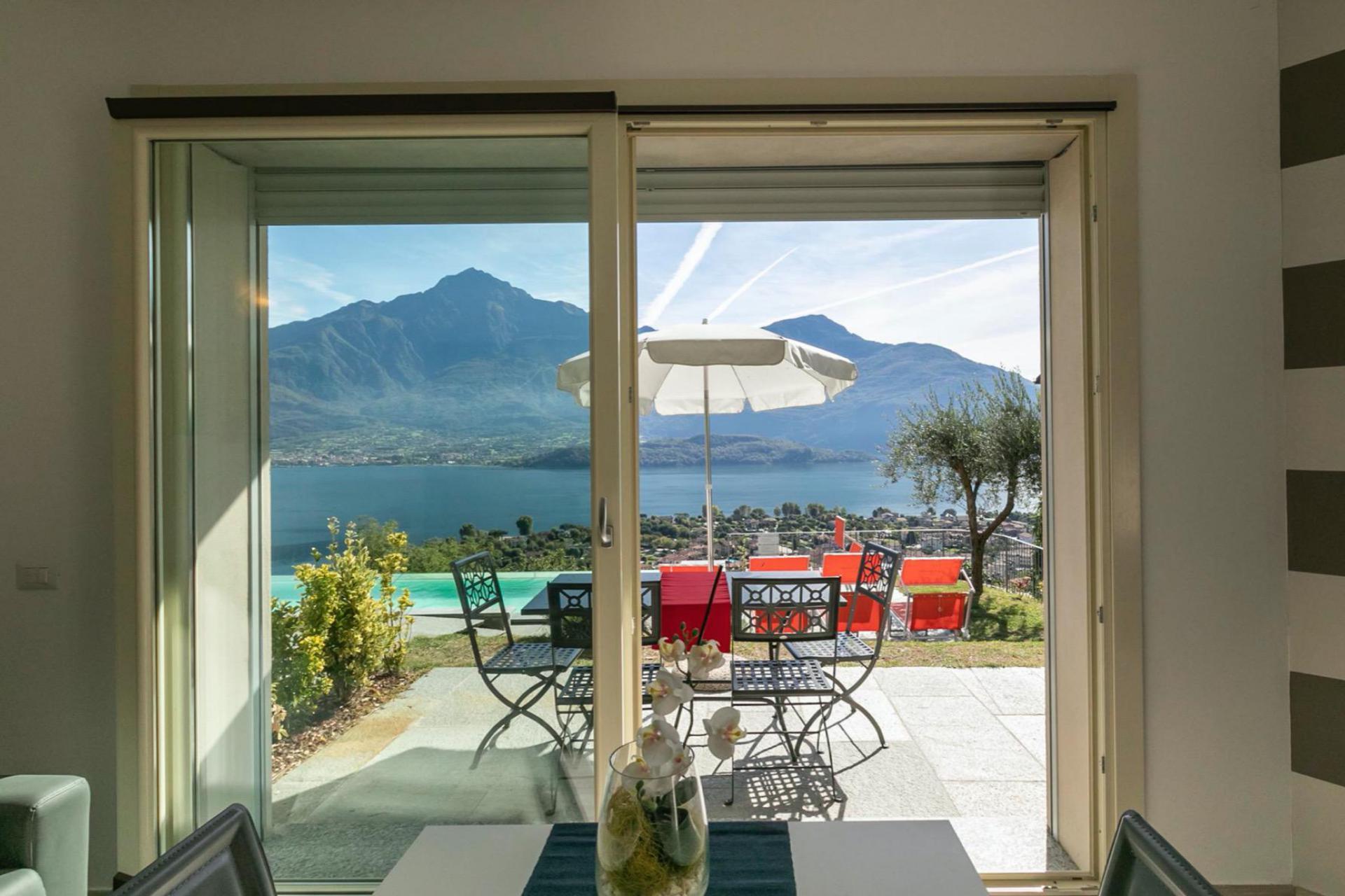 Agriturismo Lago di Como e lago di Garda Residence con vista unica sul Lago di Como