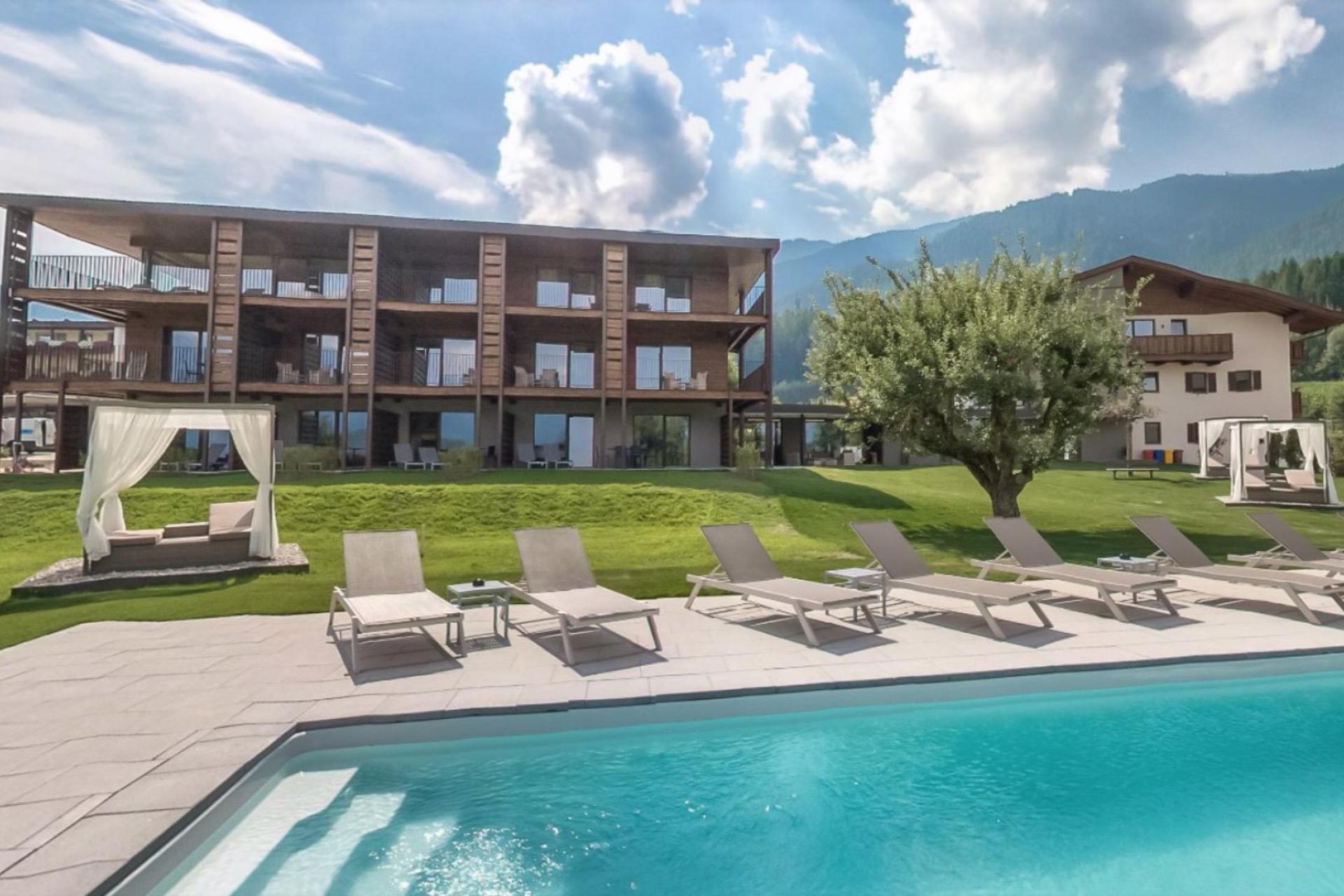 Agriturismo Dolomiti Residence nelle Dolomiti a pochi passi dal paese