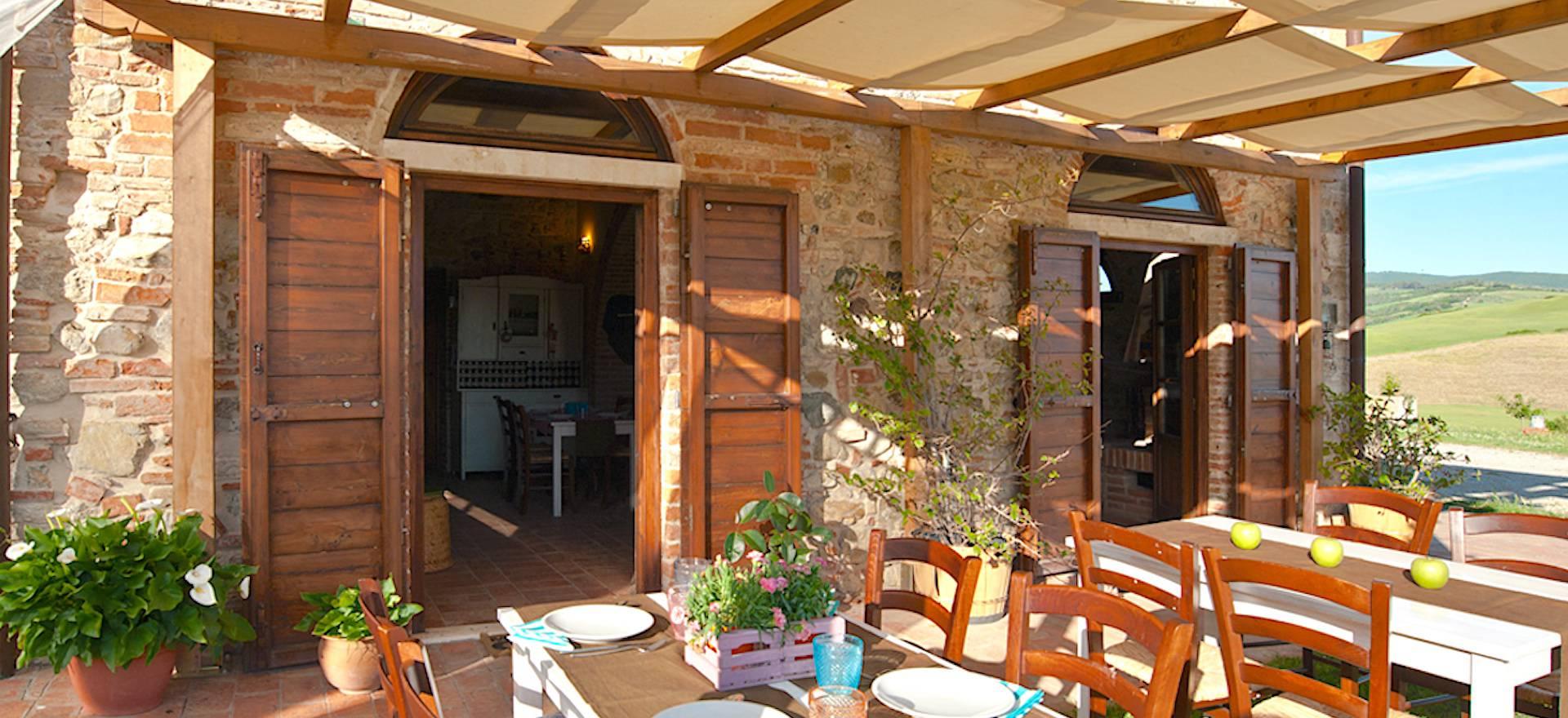 Agriturismo Toscana Agriturismo accogliente con vista su Volterra, Toscana