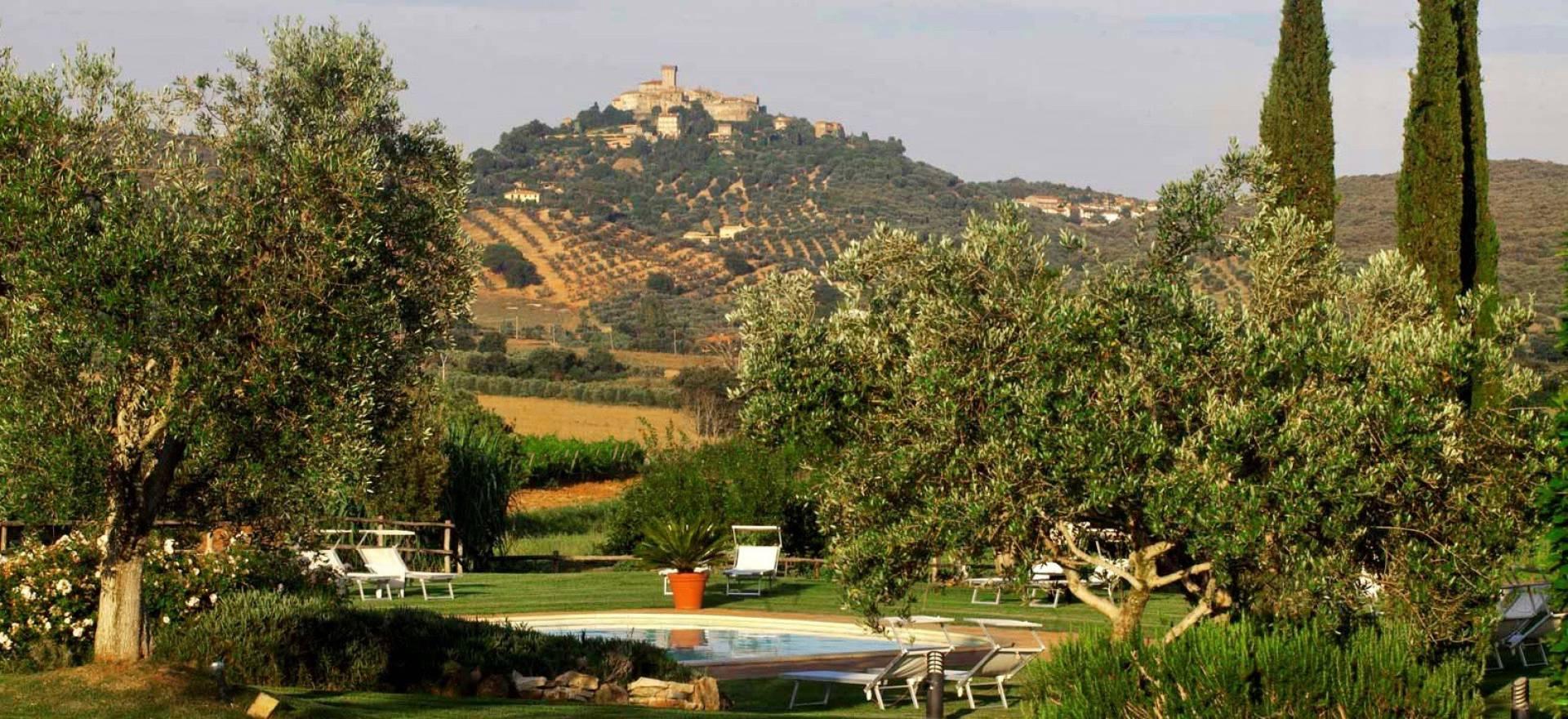 Agriturismo Toscana Agriturismo romantico Toscana sulle colline vicino al mare