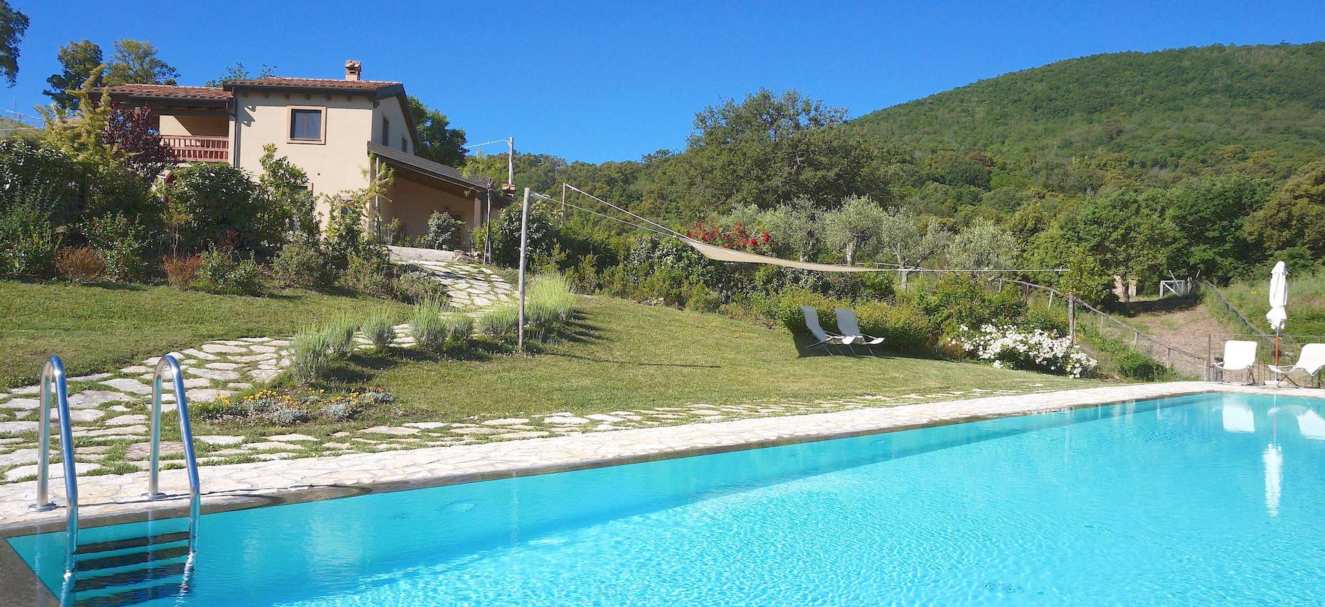 Agriturismo Toscana Agriturismo con case di lusso su una collina in Toscana
