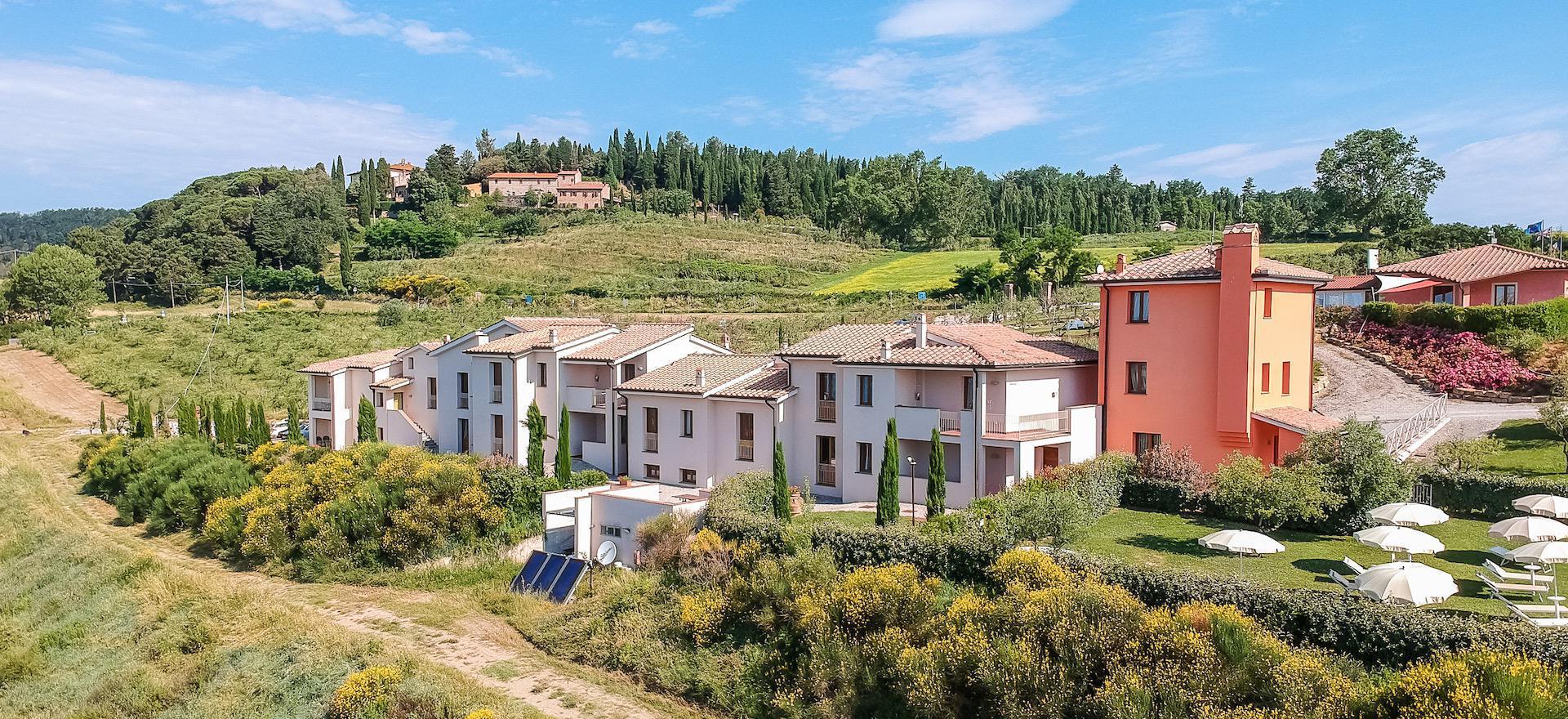 Agriturismo Toscana Grande agriturismo in Toscana con panorami mozzafiato