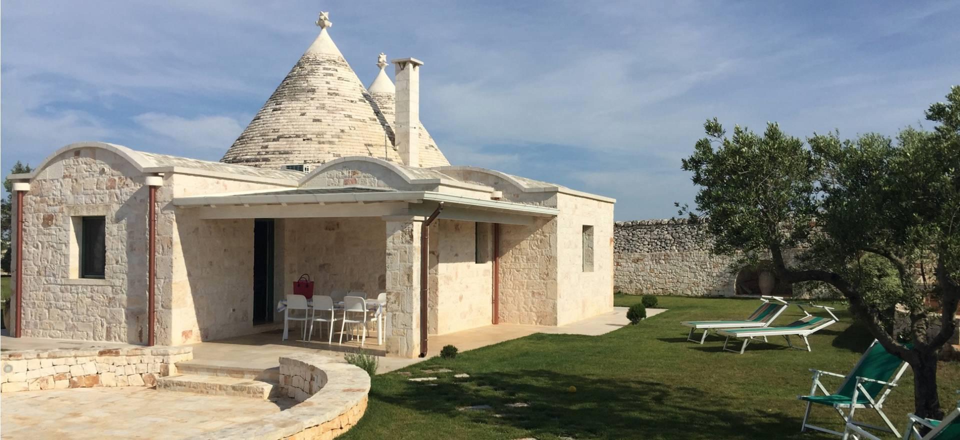 Agriturismo Puglia Trullo con piscina privata nel uliveto