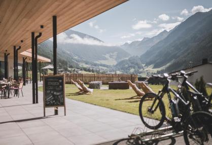 Agriturismo di lusso nelle Dolomiti con spa e bistrot